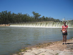 A Weir at Mildura