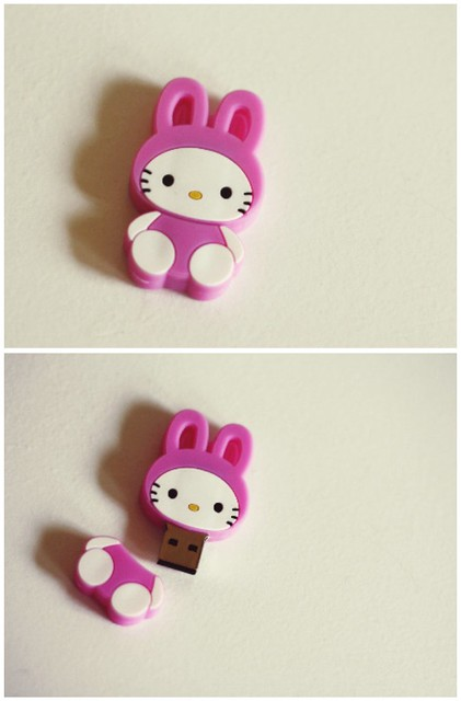 Hello Kitty + Bunny + Pink? Win