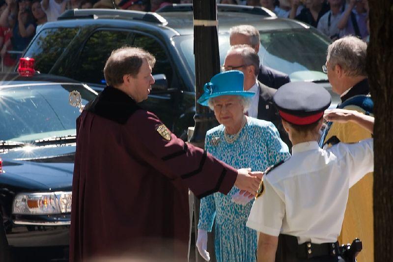 Queen Elizabeth II in Toronto