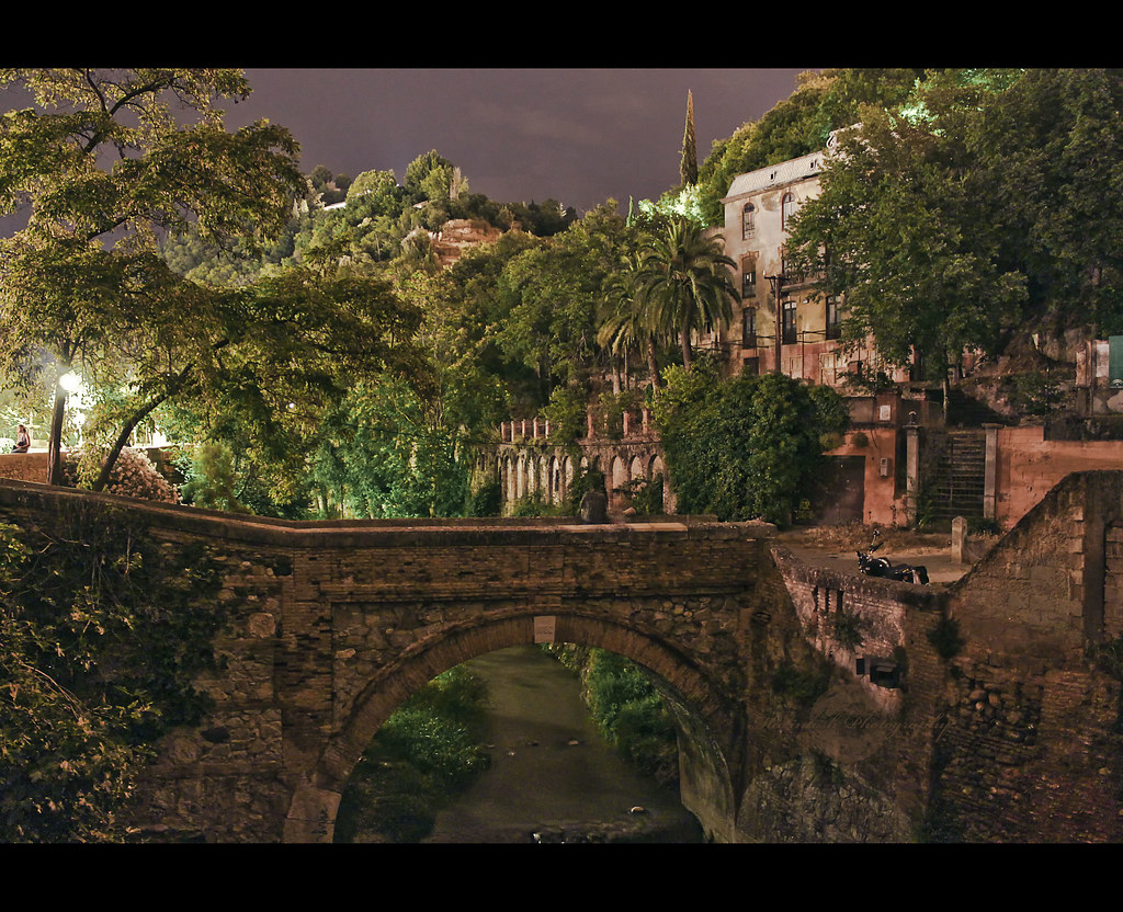 Rio Darro y la casa del reuma