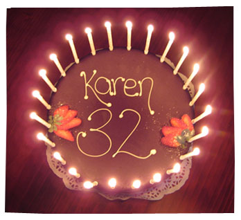 Karen Birthday Cake 2010