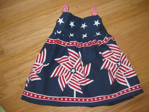 pinwheel dress