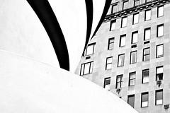 ny   ggm (pa.toa) Tags: street white newyork black art museum eos guggenheim