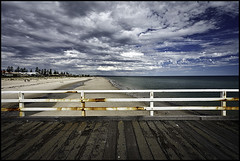 Grange (Luke Tscharke) Tags: cloud jetty south australia grange cloudage lushaki