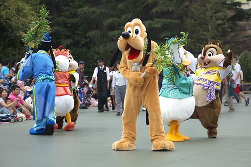 2010年東京ディズニーランドの七夕