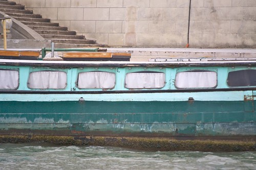 Boat on the Seine, Paris