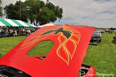 Firebird (Coop Photography) Tags: show old red classic car june photography washington nikon 26 firebird wa coop pontiac 1978 decal washtucna 78 v8 2010 d90 66l