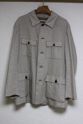 義父から頂いた綿のジャケット