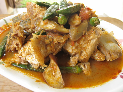 Assam fish head curry