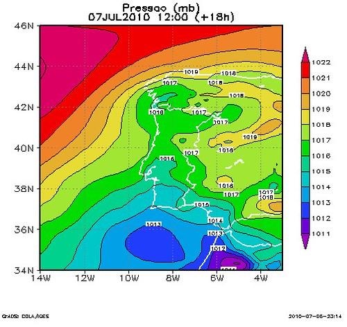 sinóptica para 7Julho2010(12h)