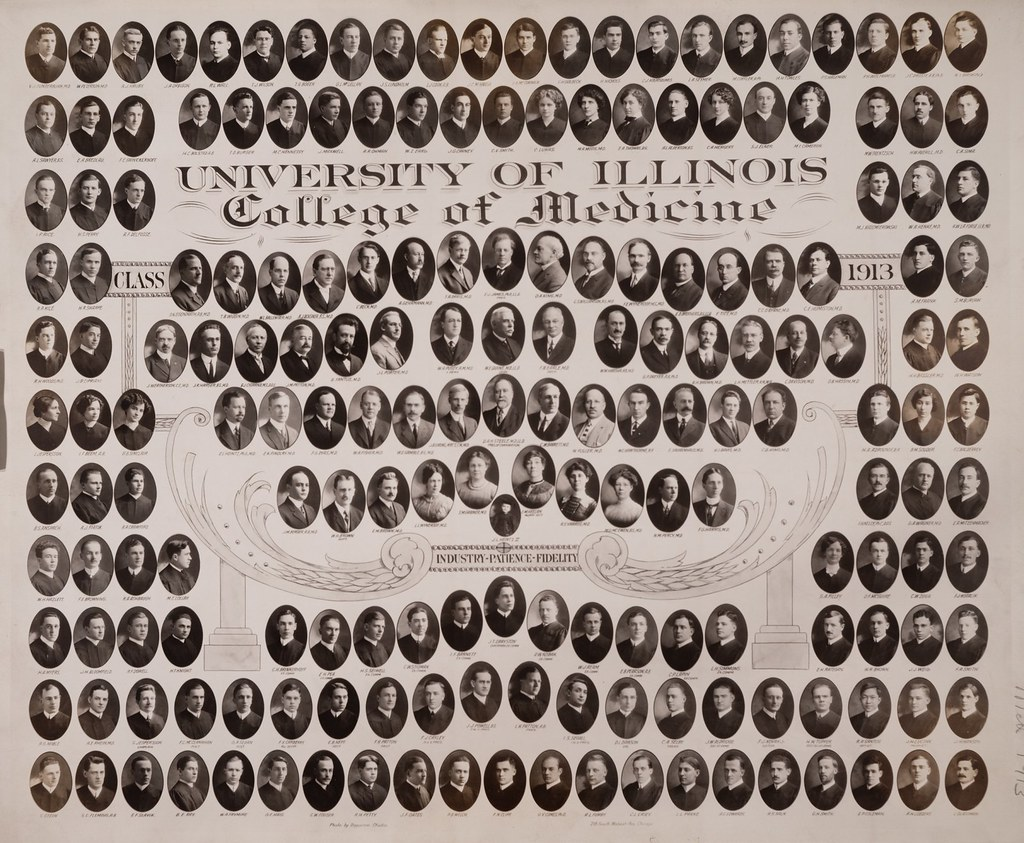 1913 graduating class, University of Illinois College of Medicine