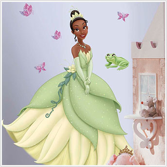 Princess and the Frog;Tiana -  Giant Princess Wall Stickers