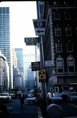 Park Avenue and 57th, New York City, c.4 June 1965 (allhails) Tags: usa newyork america manhattan parkave falloutshelter panam parkavenue metlifebuilding worldfair waldorfastoria panambuilding east57thstreet ga29