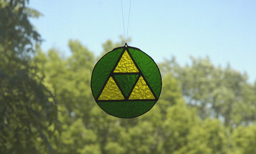 Triforce Suncatcher
