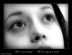 """Miranda"" Whispered (Archer Art~SJ Arredondo) Tags: fiction summer river movie glow science mel serenity fi scenes capt firefly joss tam sci whedon fillion nathon"
