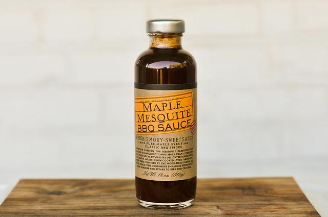 Maple Mesquite BBQ Sauce