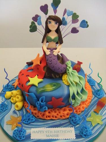 CAKE - the little mermaid