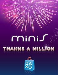 minis hits 1 million downloads