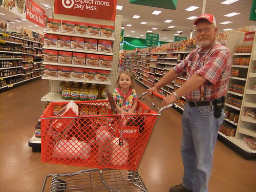 Proof that Grandpa has been to Target!
