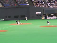 日ハム対オリックス 札幌ドーム