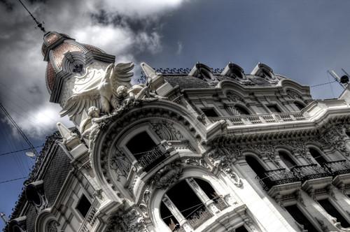 Granada building. Edificio de Granada