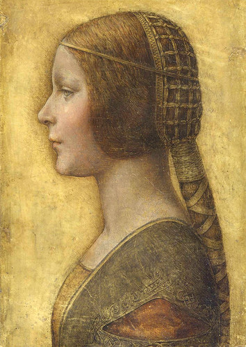 La Bella Principessa - Attributed to Leonardo da Vinci (Italian, 1452-1519)