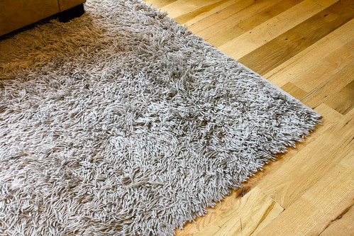 new area rug! West Elm's Atlas in Feather Gray