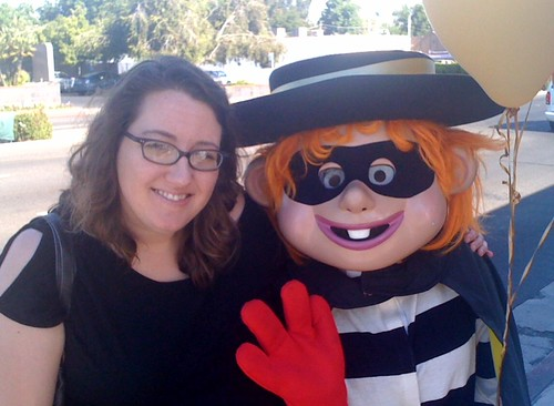 Me and the Hamburglar