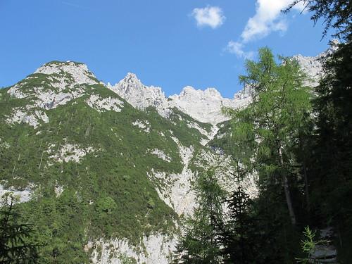 Viererspitze und Westliche Karwendelspitze