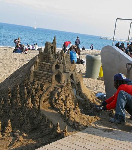 barcelona beach 008