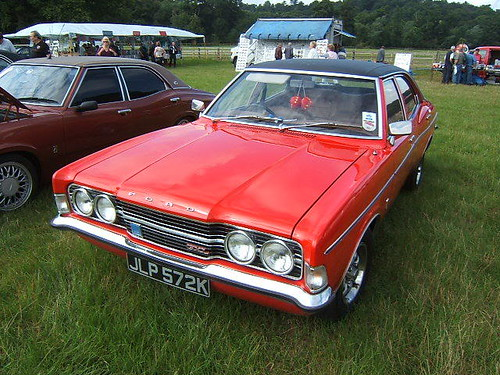 OCTOBER 1971 FORD CORTINA 2000 MK3 1993cc JLP572K