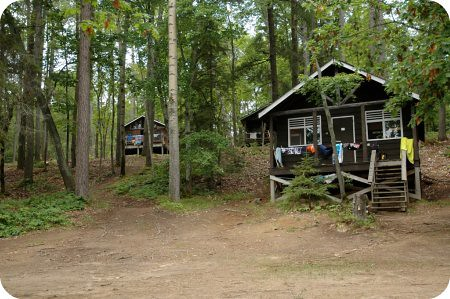 Camp Wabikon: the cabins