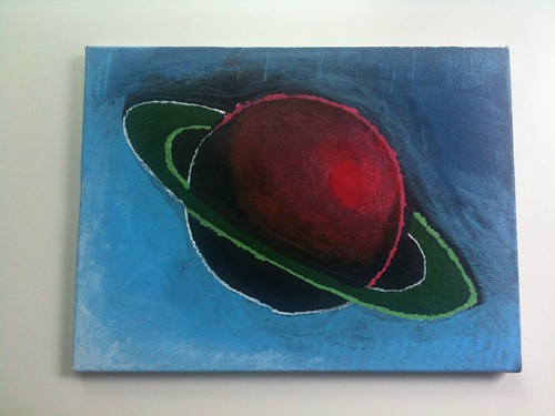 Painting Planet Argon, part 1