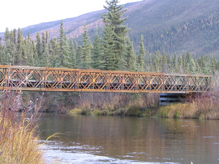Another view of that Bailey bridge
