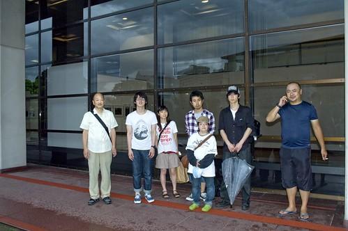 福岡市中央区|福岡県立美術館 works '10 搬入日