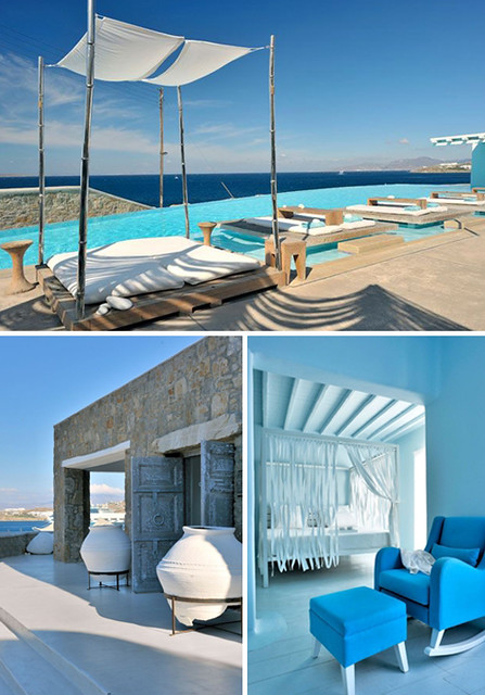 cavo tagoo on mykonos, greece