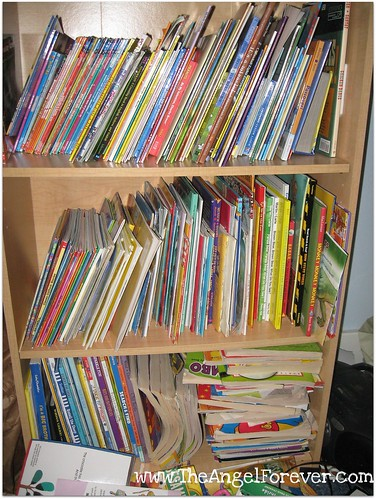 Books in the kid's room