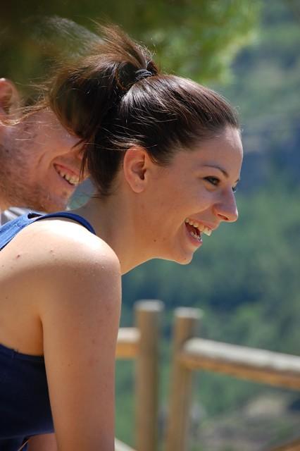 Sonrisa de felicidad...