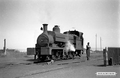 Ex- LNER 0-6-0 ST steam locomotive working at Seaham Harbour, 1950s (Beamish Museum) Tags: history museum durham harbour archive historic beamish collections northeast colliery seaham countydurham northeastengland photoarchive beamishcollections