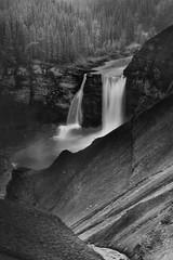 Ram River Falls (Mike Bingley) Tags: summer alberta 2010 forestrytrunkroad k100d ramriverfalls justpentax
