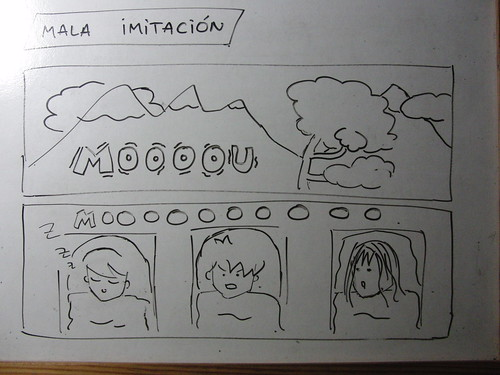 mala imitación