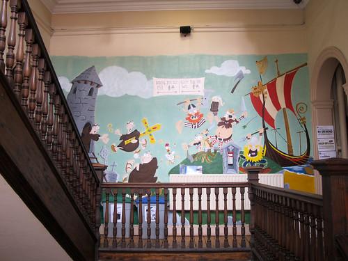 Kinlay Hostel Dublin - Mural