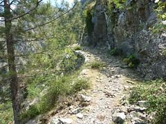 Le sentier de Caprunale ou de la transhumance
