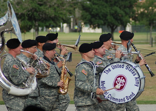 The US Army Medical Command Band