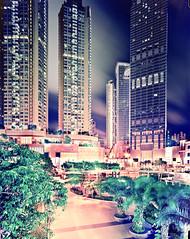 Hong Kong #45 -drumscan (Thomas Birke) Tags: china park urban tower film analog hongkong kodak center 8x10 convention nina residential et largeformat appartment p2 density sinar lhotel schneiderkreuznach ektar 150mm tsuenwan 56150 supersymmarxl