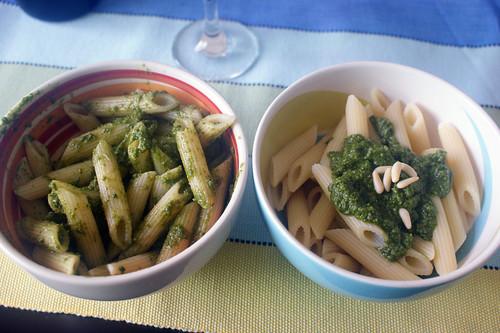 Pesto - Tudo junto ou misturado?