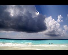 (tbg78) Tags: ocean blue sea summer sky colors clouds mexico colours explore cancun grandoasis oasiscancun