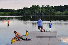 There Was Absolutely No Ice on Lake Wingra in July (Madison Guy) Tags: people lake water wisconsin kayak madison leisure recreation wi sup lakewingra portf standuppaddleboarding