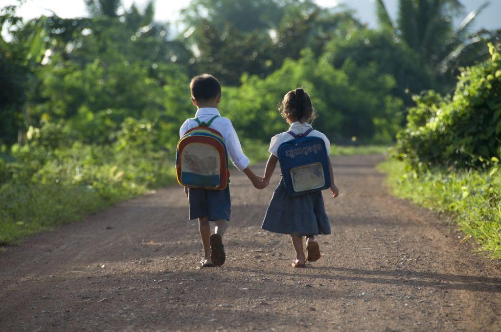 Cambodia Schoolkids