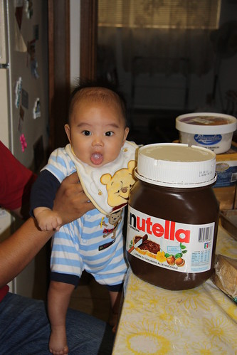 Baby Z & the Giant Nutella